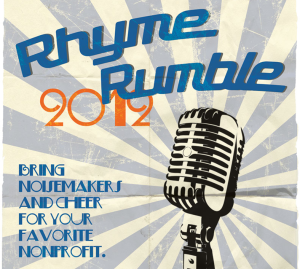 Ryhme Rumble postcard